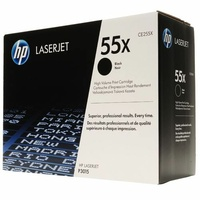 HP 55X High Yield Black - Original LaserJet Toner Cartridge