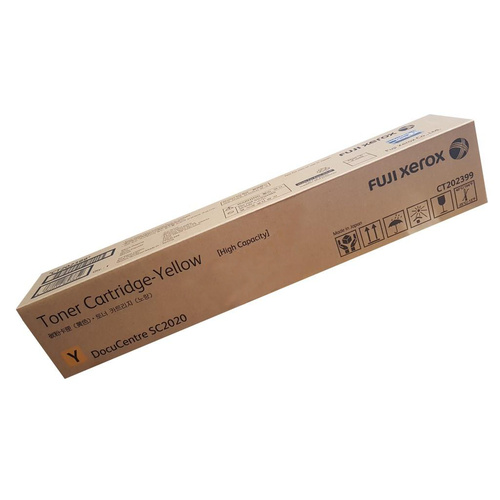 Fuji Xerox CT202399 High Capacity Yellow - Genuine DocuCentre Toner Cartridge